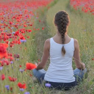 Yoga gegen Hitze
